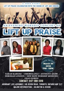 Lift up for Priase